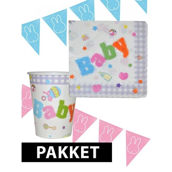 Babyshower jongen of meisje pakket