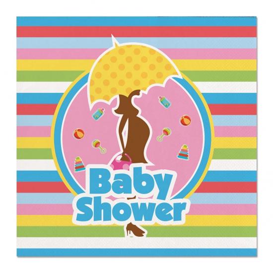 Babyshower servetten 33 cm