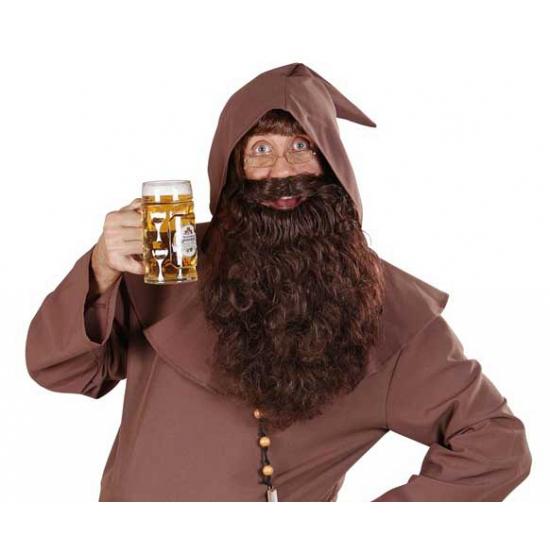 Lange baard bruin