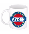 Ayden naam koffie mok beker 300 ml