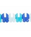 Baby slinger met blauwe wiegjes
