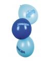 Blauwe geboorte ballonnen zes stuks