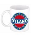Dylano naam koffie mok beker 300 ml
