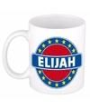 Elijah naam koffie mok beker 300 ml