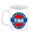 Finn naam koffie mok beker 300 ml