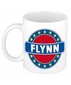Flynn naam koffie mok beker 300 ml