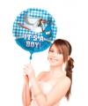Folie ballon geboorte jongen 45 cm