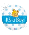 Folie geboorte ballon its a boy