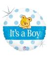 Folie geboorte ballon its a boy