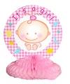 Its a girl geboorte tafelversiering