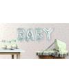 Opblaasletters baby geboorte ballonnen