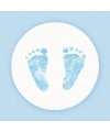 Servetten geboorte jongen roze wit 3 laags 20 stuks