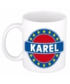 Karel naam koffie mok beker 300 ml