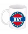 Kay naam koffie mok beker 300 ml