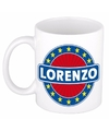 Lorenzo naam koffie mok beker 300 ml