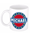 Michael naam koffie mok beker 300 ml