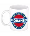 Mohamed naam koffie mok beker 300 ml