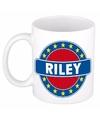 Riley naam koffie mok beker 300 ml