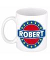 Robert naam koffie mok beker 300 ml
