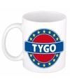 Tygo naam koffie mok beker 300 ml